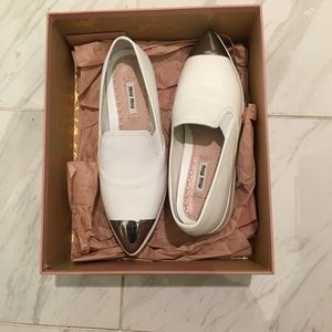 Brand new miu miu sneaker- size 37-For size 7 wear